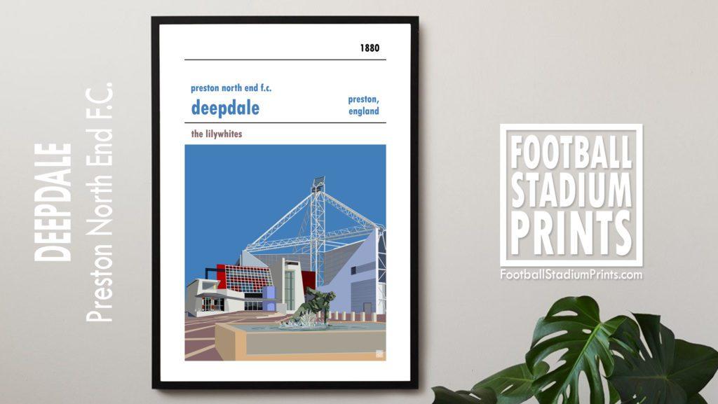 Framed print of Preston North End FC