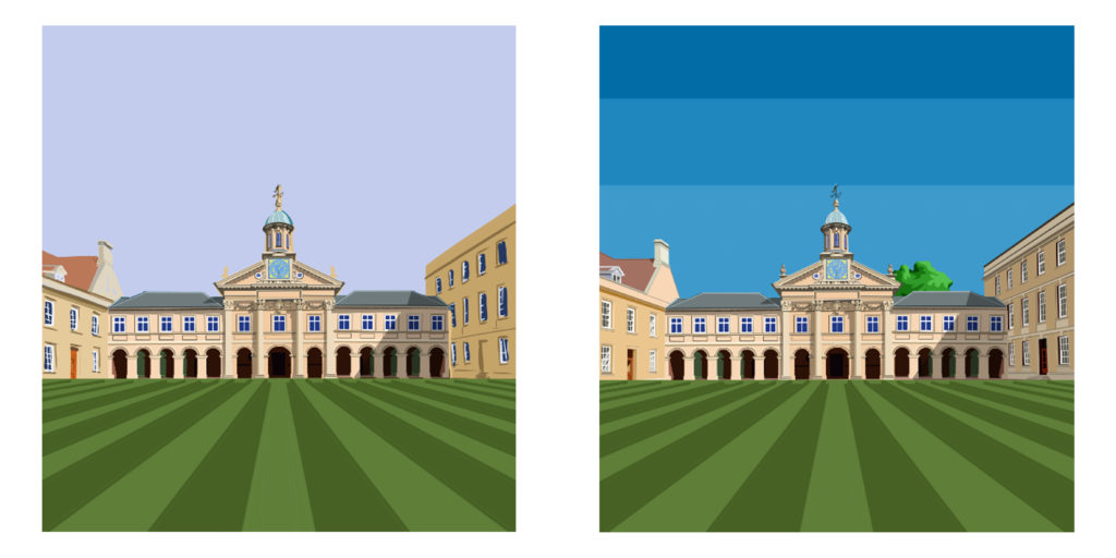 Emmanuel College Football Stadium Prints