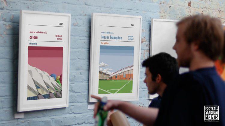 Art Gallery of Football Prints