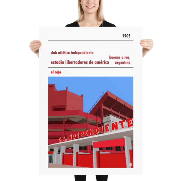 Massive CA Independiente football poster