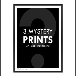 3 Mystery Prints from Football Stadium Prints