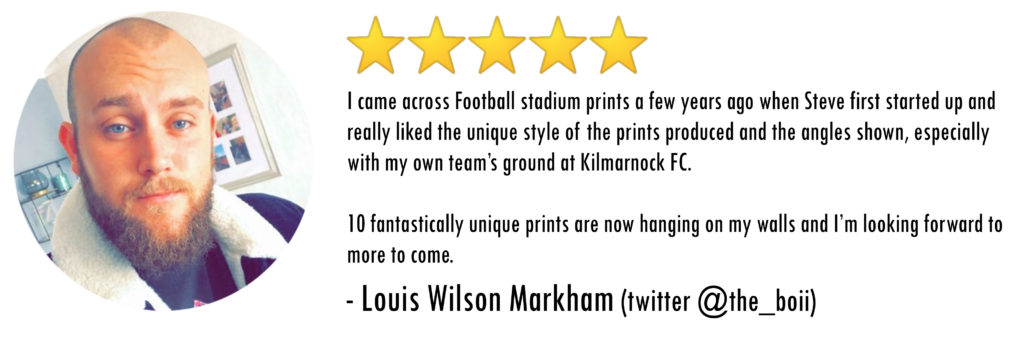 5 Stars for Football Stadium Prints Mystery Prints