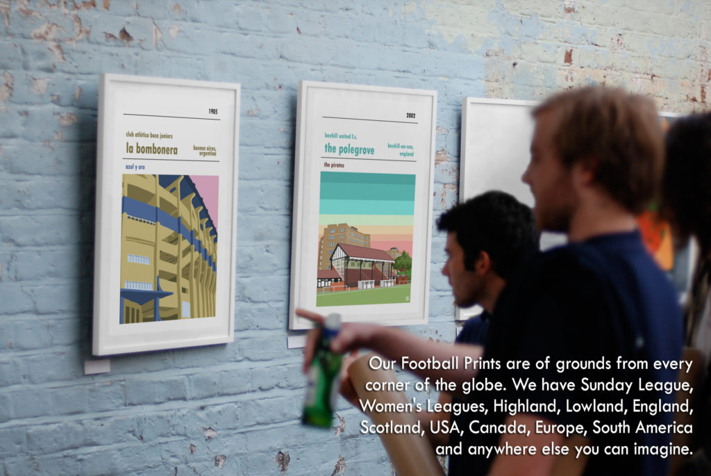 Football Prints from all over the world