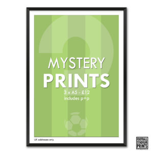 3 Mystery Football Prints for £12