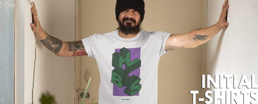 HIBS football t-shirt from Football Stadium Prints