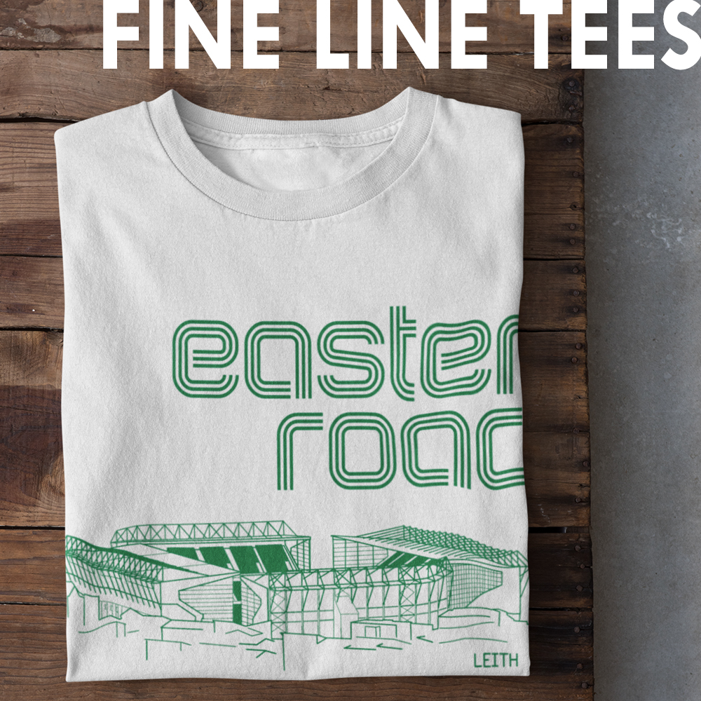 Fine Line T-shirts from Football Stadium Prints
