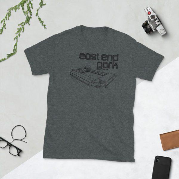 Dark grey East End Park Dunfermline T-Shirt