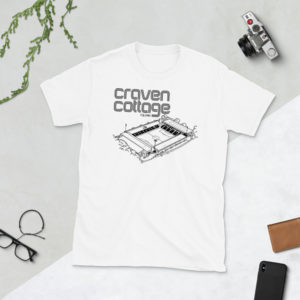 White Craven Cottage and Fulham FC T-shirt