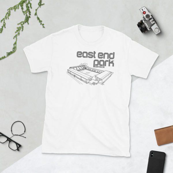 White East End Park Dunfermline T-Shirt