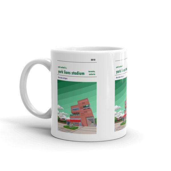York Lions Stadium and York United FC Coffee Mug