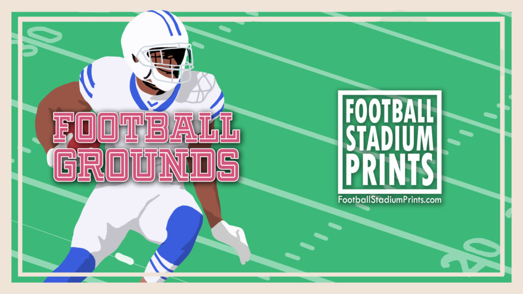 American Football Grounds by Football Stadium Prints