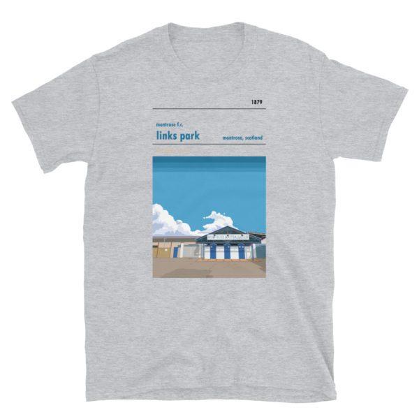 Links Park and Montrose FC t-shirt