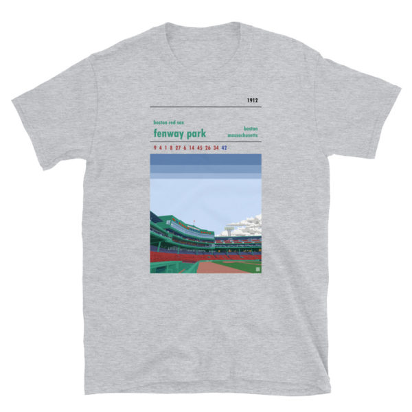 Fenway Park and Boston Red Sox t-shirt