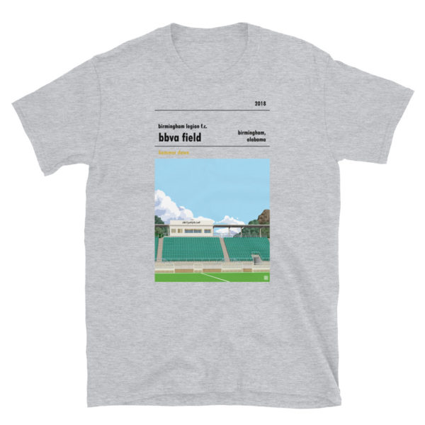 Birmingham Legion and BBVA Field t-shirt