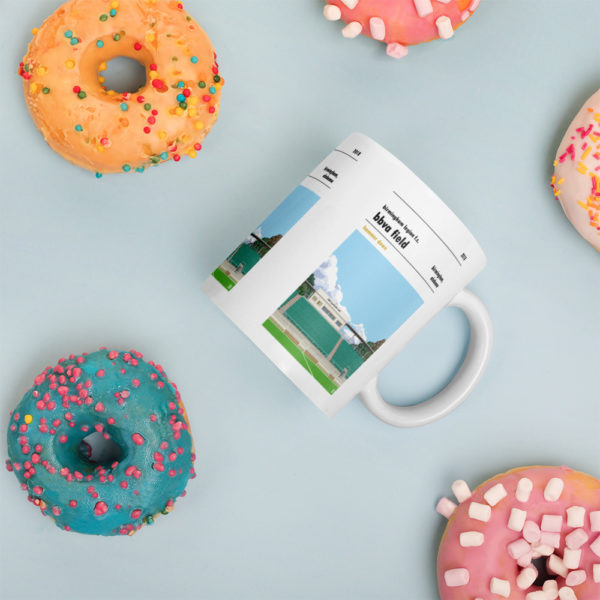 Coffee mug of Birmingham Legion and BBVA Field