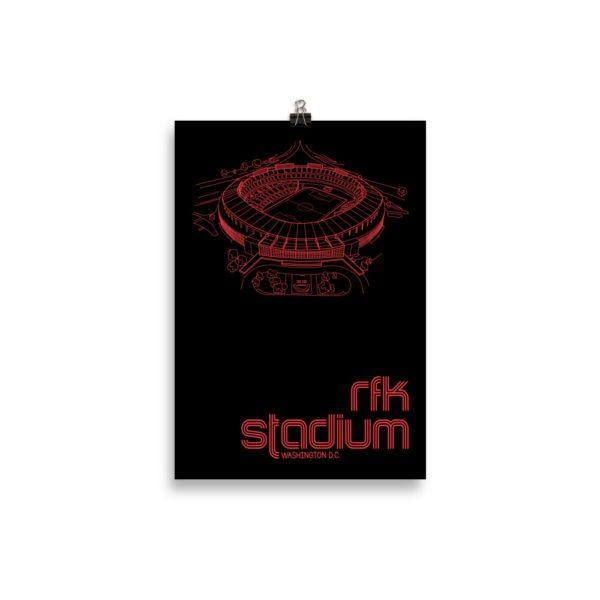 Small RFK Stadium and DC United Print