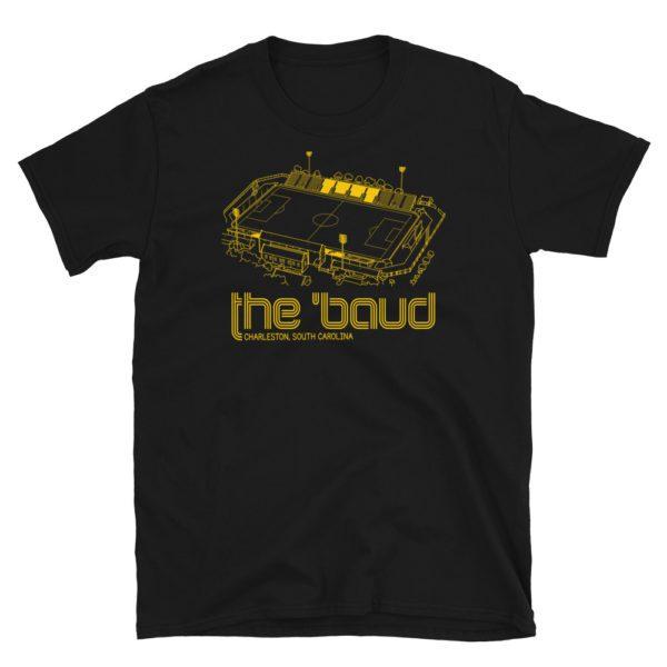 Black The 'Baud and Charleston Battery T-Shirt