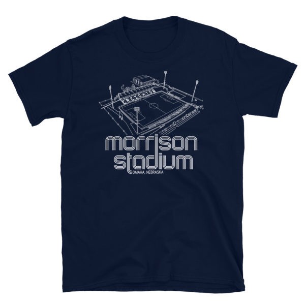 Morrison Stadium home to Creighton BlueJays Soccer Team T-Shirt