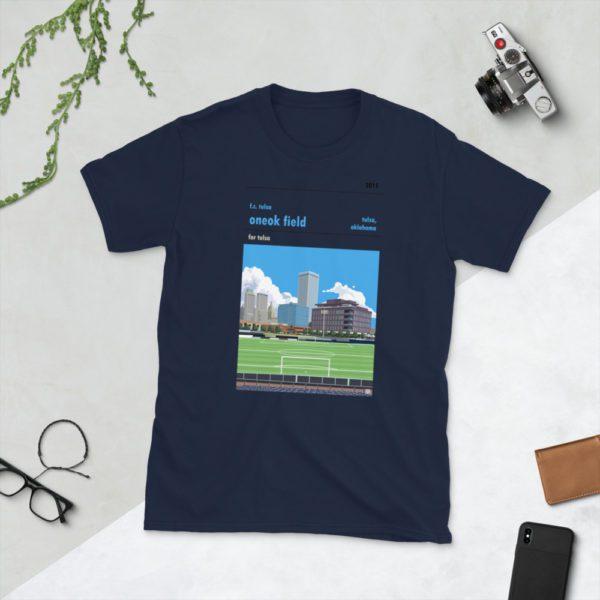 Navy ONEOK Field and FC Tulsa t-shirt