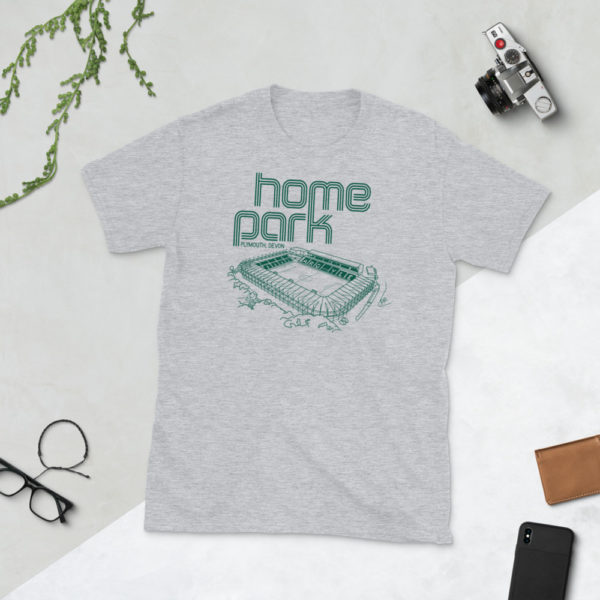 Grey Home Park and Plymouth Argyll FC T-Shirt