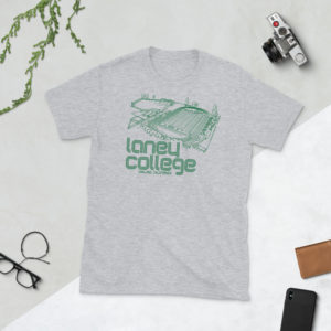 Grey Laney Community College Football T-Shirt