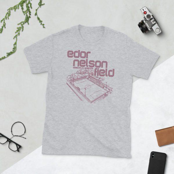 Gray Augsburg Soccer T-Shirt