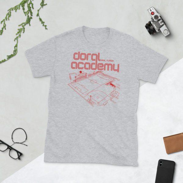 Gray Doral Academy t-shirt