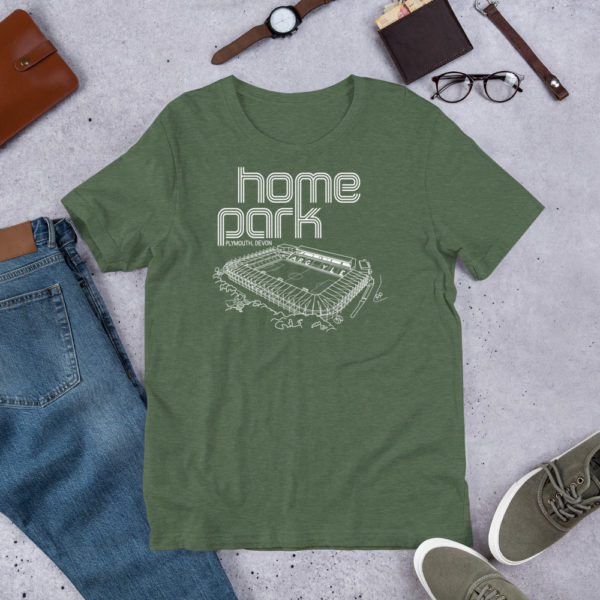 Mint Home Park and Plymouth Argyll FC T-Shirt