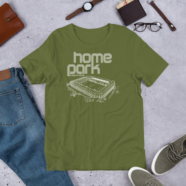 Green Home Park and Plymouth Argyll FC T-Shirt