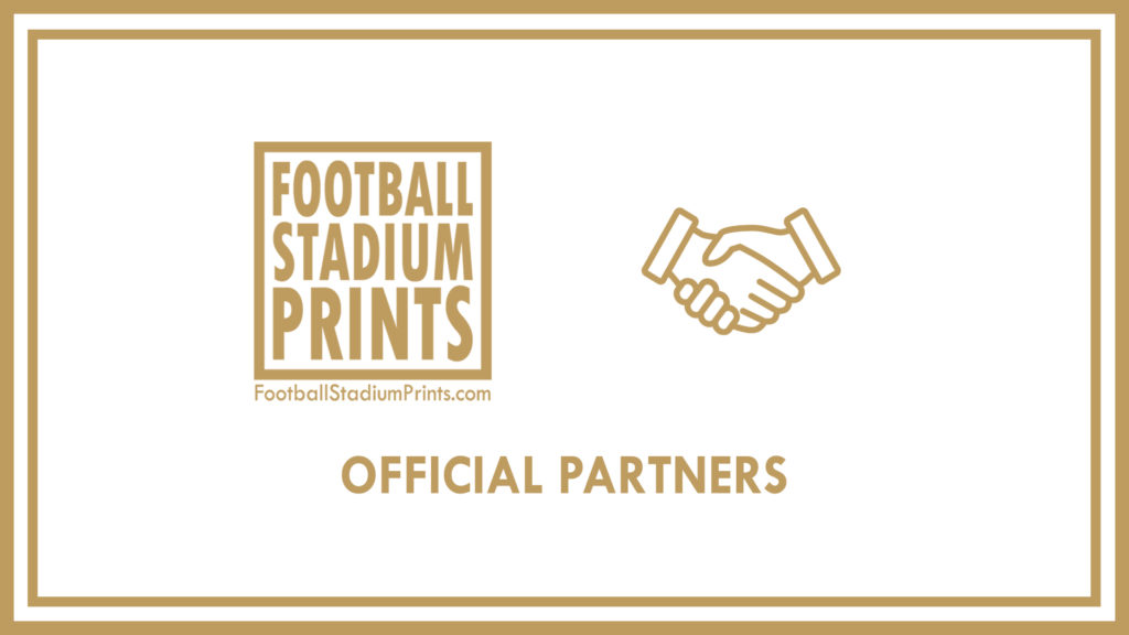 Official Partners of Football Stadium Prints