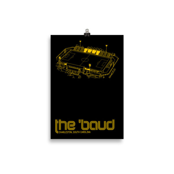 Small Charleston Battery and the Baud soccer print