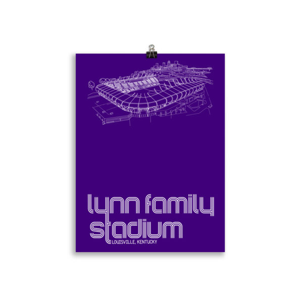 Lynn Family Stadium and Louisville City SC poster