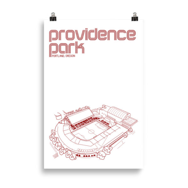 Huge Providence Park and Portland Thorns Soccer print