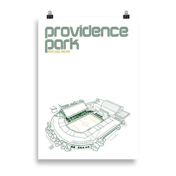 Massive Providence Park and Portland Timbers Soccer print