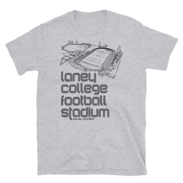 Oakland Roots SC and Laney College Football stadium T-Shirt