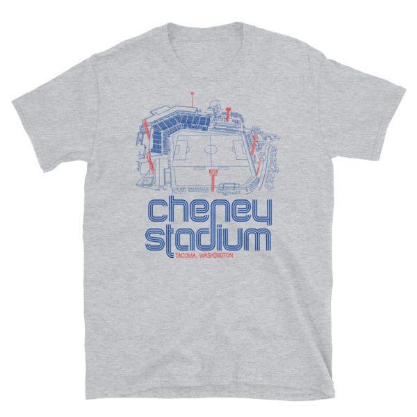 OL Reign and Cheney Stadium T-Shirt