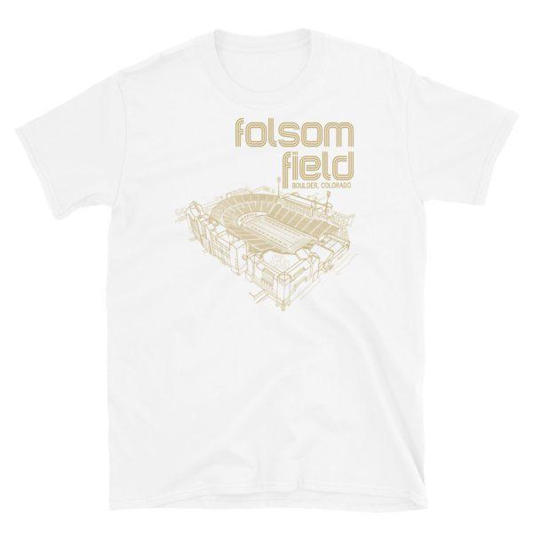 Folsom Field and Colorado Buffaloes T-Shirt