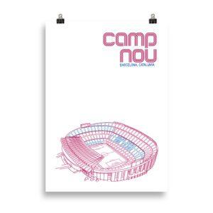 Large Camp Nou Barcelona Print