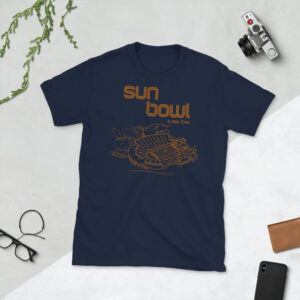 Navy UTEP Miners and Sun Bowl T-Shirt