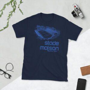 Navy Stade Molson T-Shirt
