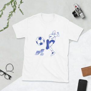 White EURO 2020 t-shirt
