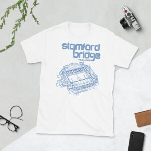 White Stamford Bridge and Chelsea T-Shirt