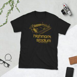 Black Large Highmark Stadium and Pittsburg Riverhounds T-Shirt