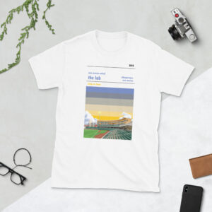 White New Mexico United and the Lab t-shirt