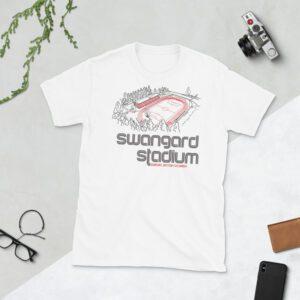 White Swangard Stadium and TSS Rovers T-Shirt